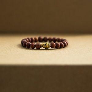 Golden Eagle Co 8mm Buddha Prayer Bracelet